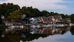 Boathouse Row Stock Image