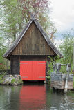 Boathouse Spreewald Στοκ Εικόνες