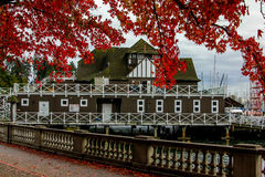 The Boathouse in Stanley Park. Stock Photos