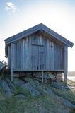 Boathouse velho fotografia de stock royalty free