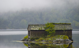Boathouse velho Foto de Stock Royalty Free