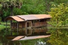 boathouse vieux image stock