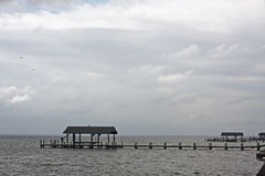 Boathouses Stock Images