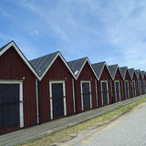 Boathouses Royalty Free Stock Photography