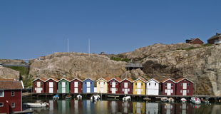 Boathouses Stock Photos
