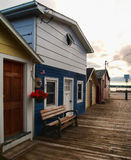 Boathouses Royalty Free Stock Photography