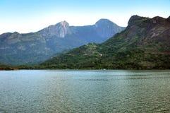 Boating aliyar dam Stock Photo