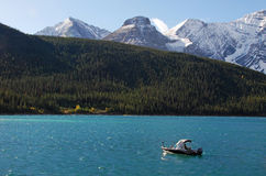 Free Boating Among The Moutains Royalty Free Stock Photography - 6626637