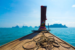 Boating on the Andaman Sea Stock Photo