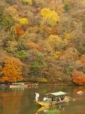 Boating in Arashiyama Royalty Free Stock Photography