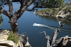 Free Boating At Alcova Reservior Royalty Free Stock Photos - 66967178