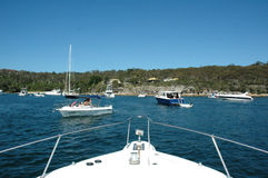 Boating Australia stock images