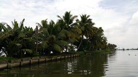 Boating in Azhapuzha, Kerala, India stock photography