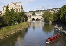 Boating in Bath Stock Images
