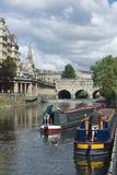 Boating in Bath Royalty Free Stock Photo