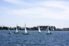 Boating in California Royalty Free Stock Photo