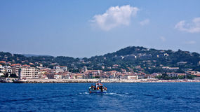 Boating in Cassis Stock Photography