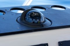 Boating compass Royalty Free Stock Photo