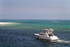 Boating In Destin Pass Royalty Free Stock Photo