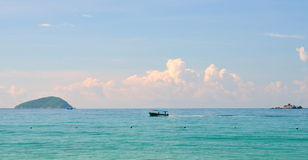 Boating, Hainan Island China, Hainan; Sanya, Yalong Bay Stock Image