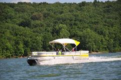 Boating In Indiana USA. Boating In Indiana - Boating on Brookville Lake in Indiana, USA Stock Image