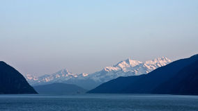Boating the Inside Passage Stock Images