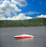 Boating In Kentucky Royalty Free Stock Photo