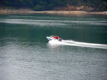 Boating on keowee Royalty Free Stock Photography
