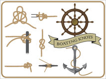Boating knots Royalty Free Stock Photography