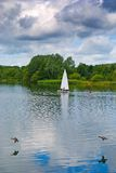 Boating Lake Stock Images