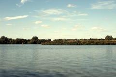 Boating Lake at Priory Marina. Bedford, United Kingdom Stock Photography