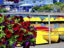 Boating Lake, Skegness, Lincolnshire. The Boating Lake at Skegness, Lincolnshire Royalty Free Stock Images