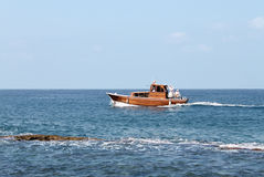 Boating in Lebanon Stock Image