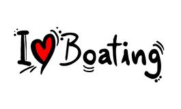 Free Boating Love Message Stock Photos - 130424633