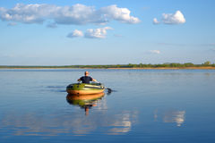 Boating Royalty Free Stock Photography