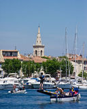 Boating in Martigues Stock Images