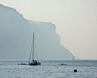 Boating the Mediterranean Royalty Free Stock Photography