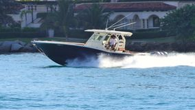 Boating Miami 4k stock footage