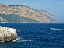 Boating near Cassis Royalty Free Stock Photo