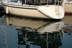 Boating Reflection Royalty Free Stock Image