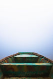 Boating to the fog Royalty Free Stock Photo