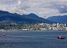 Boating Vancouver Royalty Free Stock Photography