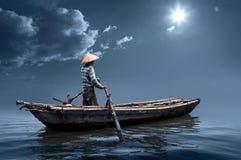 boatman Fotografia Stock Libera da Diritti