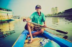 Boatman Stock Photo