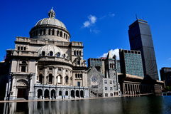 Boston, MA: Christian Science Mother Church Stock Photography