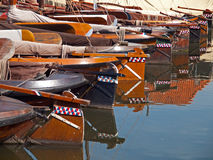 Boats. Fishing boats in the port of Bunschoten-Spakenburg, the Netherlands Royalty Free Stock Photos