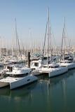 Boats. Luxury boats in marina at Larochelle, France Stock Photo