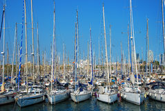 Boats. Image of boats in the port of Barcelona Stock Image