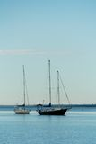 Boats. In the habour, Melbourne, Australia Stock Images