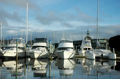 Boats. At dock Royalty Free Stock Images